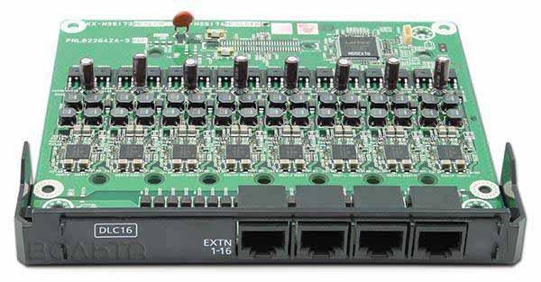 KX-NS5172X แผงขยาย16 สายในแบบดิจิตอล,Digital Extension Card 16 No.