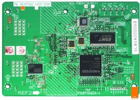 KX-TDE0111 VoIP DSP Card 64 Channels for KX-TDE100/200/600