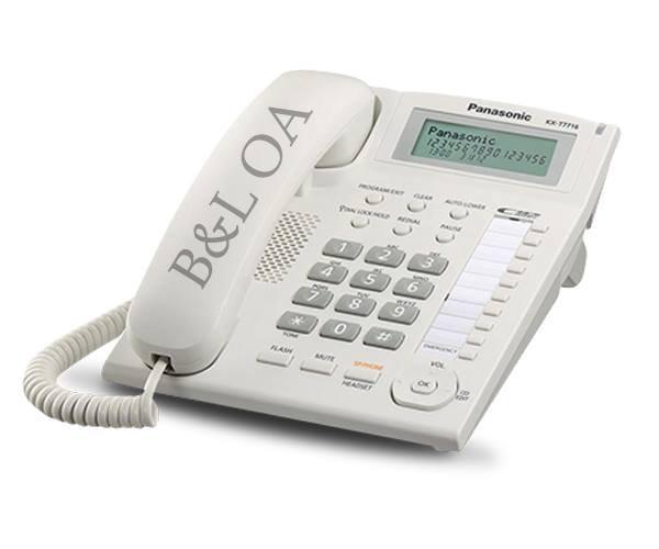 KX-T7716 โทรศัพท์มีจอโชว์เบอร์  Single Line Phone (Caller ID)