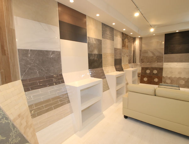 another look at our showroom display - Interior Design Tiles Showroom