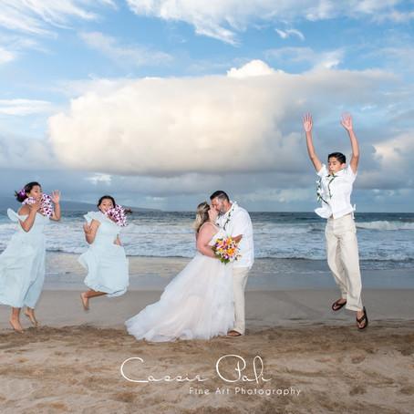 Maui Elopement   Amanda and Johnny's Beachside Intimate Wedding   Maui Wedding Planner