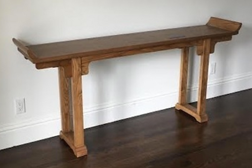 Wood Altar Console Table