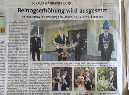 Bericht Westfalenblatt