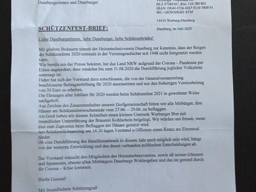 Schützenfestbrief