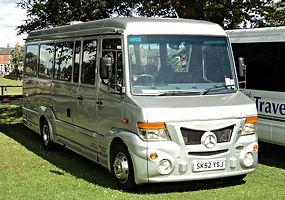 J&M Travel 29 Seat Mercedes Vario