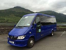 J&M Travel 16 Seat Minibus