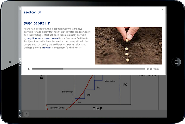Audio wiki glossary alternative investment English