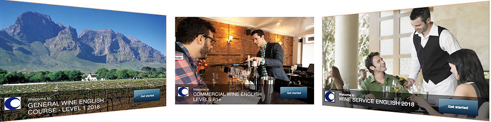 Wine English online