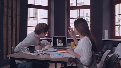 English classes with Skype video-conference