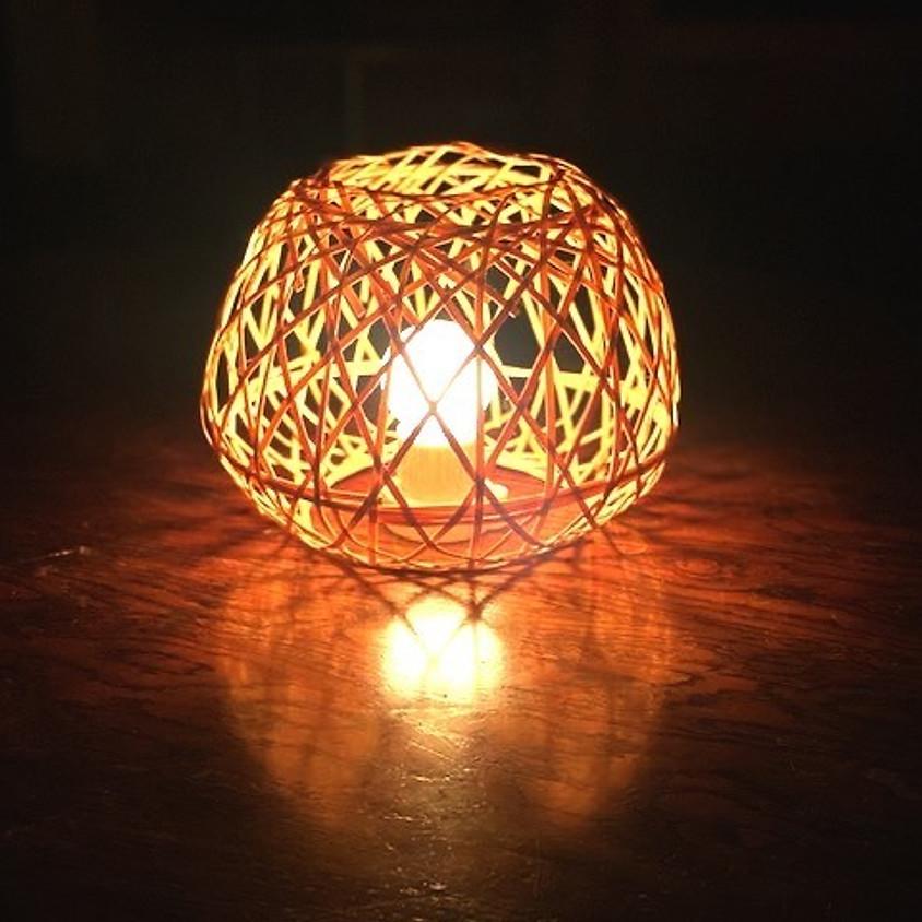 竹あかりづくり/Bamboo Lampshade