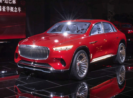 Electric Mercedes Maybach SUV – Your tea is ready?
