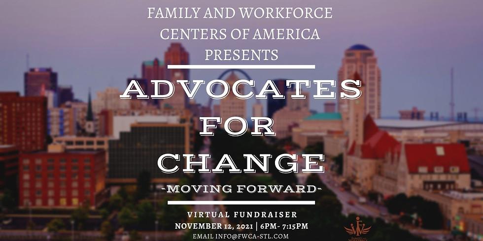 FWCA Advocates for Change Virtual Fundraiser