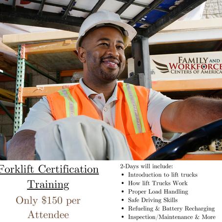 OSHA Forklift Certification Program