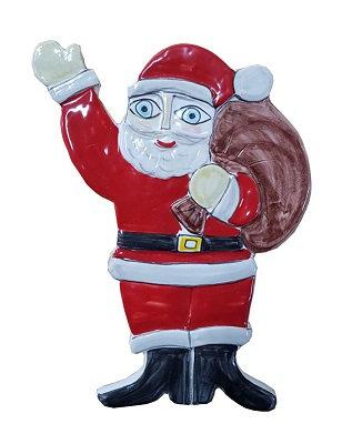 babbo Natale bassorilievo cm12