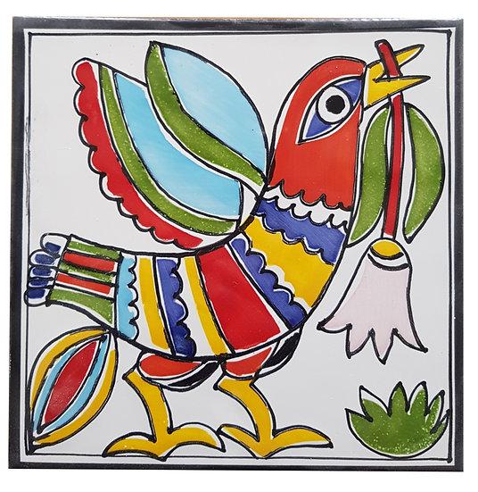 piastrella cm 15 x 15 art. 297 Uccello