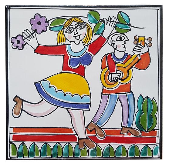 piastrella cm 15 x 15 art. 297 Musico