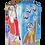 Thumbnail: bottiglia firmata base quadrata cm 9x9x30