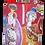 Thumbnail: bottiglia firmata base quadrata cm 11x11x24