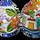 Thumbnail: uova di varie misure e decori, a scatola a salvadanaio o chiuso, h 9 cm