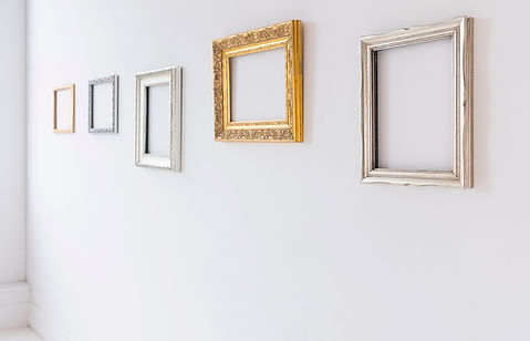 FRAME AND MIRROR HANGING
