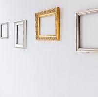 Rahmen an der Wand