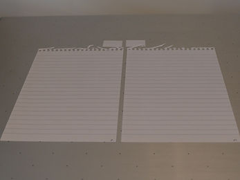 Blank sheets for ESDA