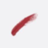 Lápiz labial rojo de la mancha