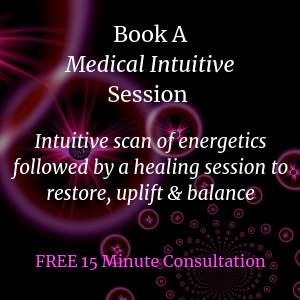 Book AMedical IntuitiveSession with Geri