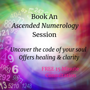 Book An Ascended Numerology Sessionwith