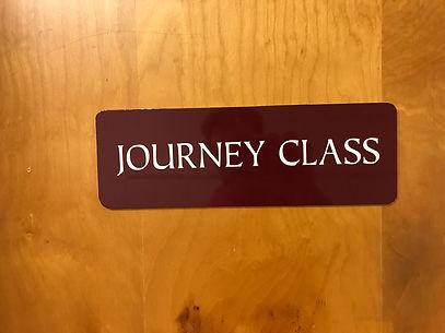 Journey Class Sign.JPG