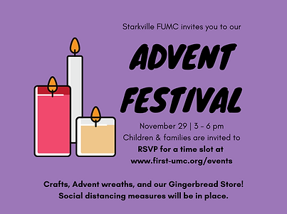 Copy of Starkville FUMC invites you to o