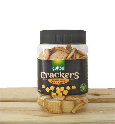 Crackers salés saveur cheddar