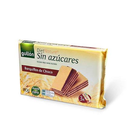 Sans sucres Gaufrettes chocolat