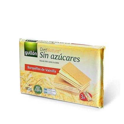 Sans sucres Gaufrettes vanille