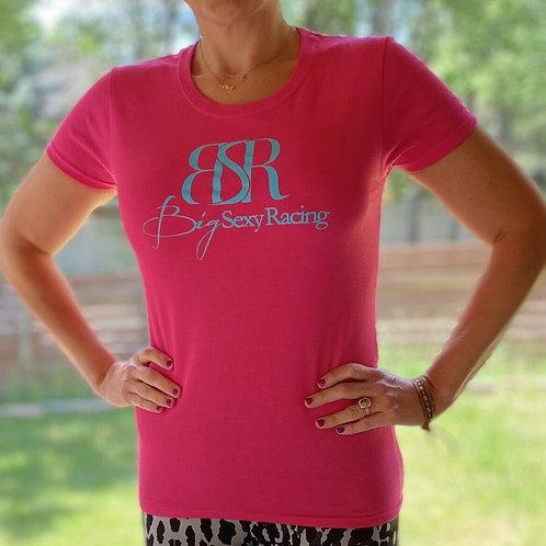 Hot Pink Women's T-Shirt