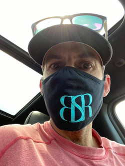 Chris sporting a BSR mask