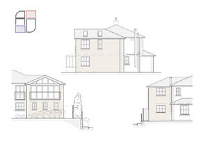 Elevations 2 Storey Side Extension