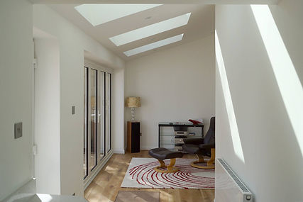Interior  Rear Extension with Rooflights