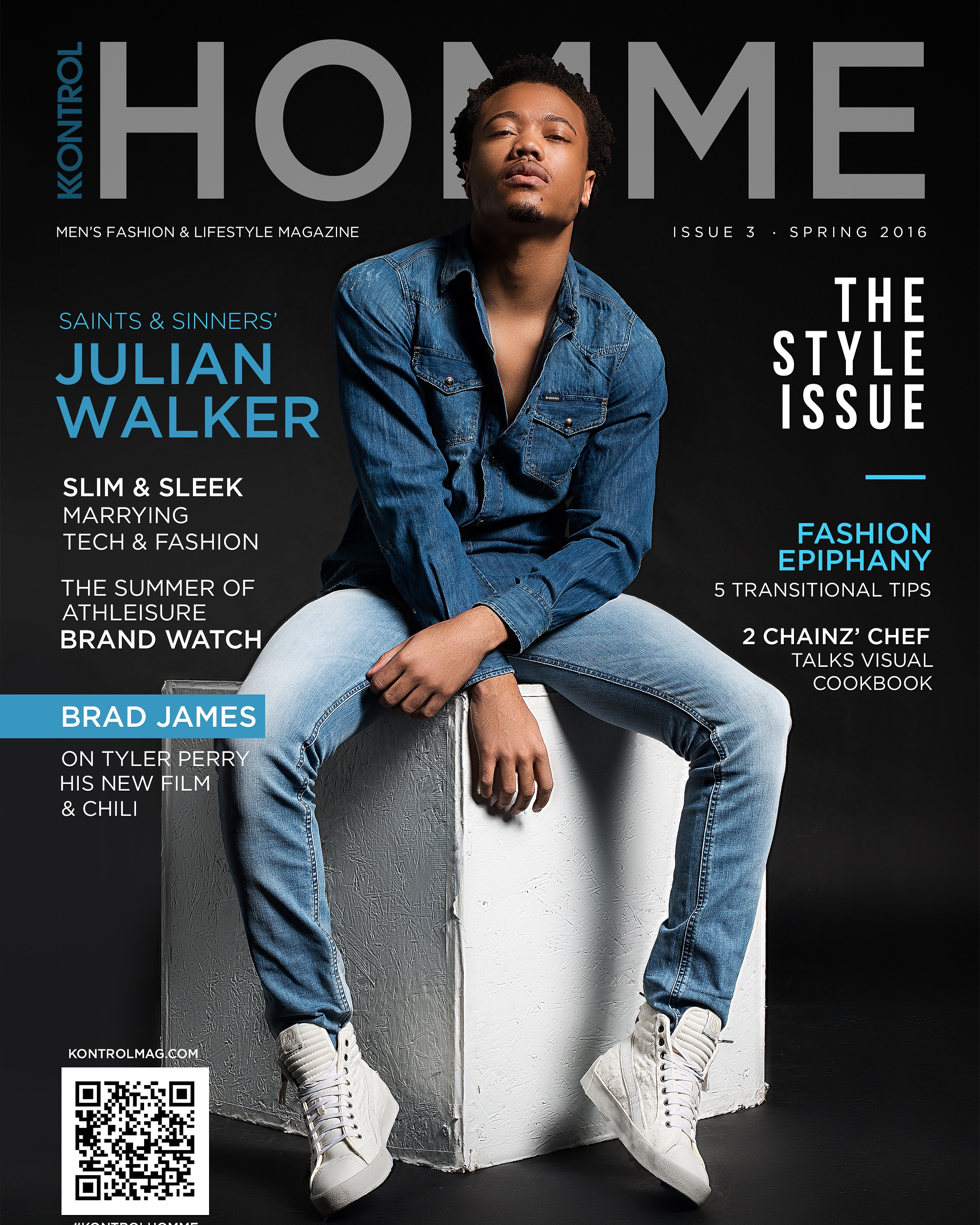 Kontrol HOMME Magazine