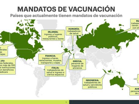 LOS RESULTADOS Y LAS IMPLICACIONES DE LOS MANDATOS DE VACUNACIÓN