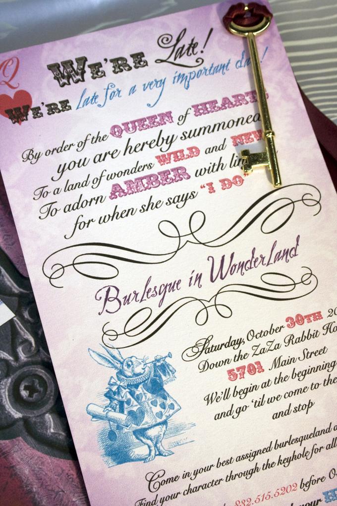 Burlesque in Wonderland Bridal