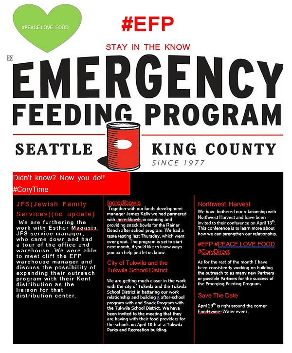 Newsfeed | Emergency Feeding | Emergency Feeding Program