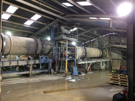 Renewal of a Rotor Dryer and Cooler