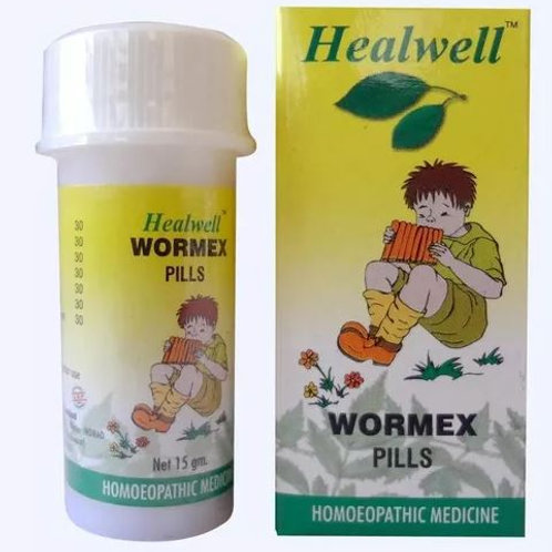 Healwell WORMEX Pills (dewormer)