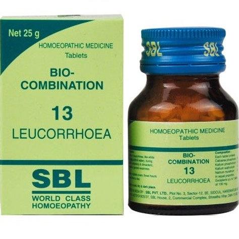 SBL Bio-combination 13 (leucorrhoea)