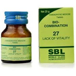 SBL Bio-combination 27 (lack of vitality)