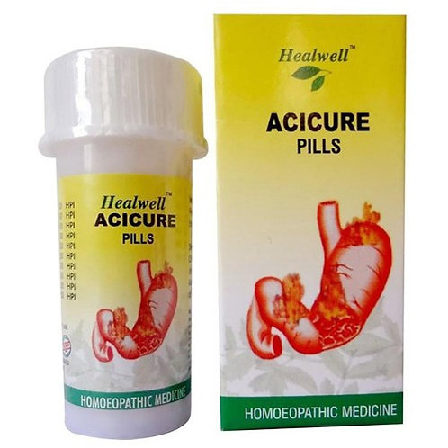 Healwell ACICURE Pills (for acidity)