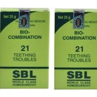 SBL Bio combination 21 (Teething troubles)