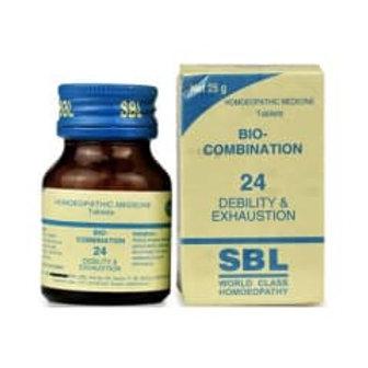 SBL Bio-combination 24 ( Debility & Exhaustion)