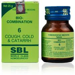 SBL Bio combination-6 (cough,cold,catarrh)